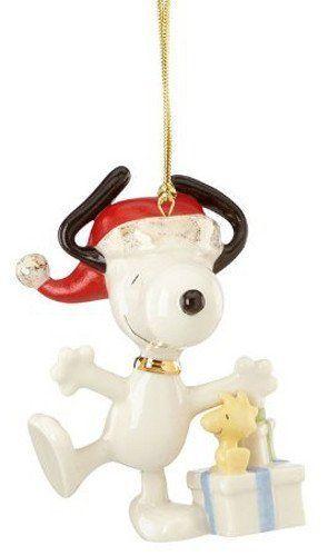 Lenox Christmas Morning Snoopy Ornament Christmas Ornaments Top Brands Artists Designer Na Lenox Christmas Christmas Ornaments Lenox Christmas Ornaments
