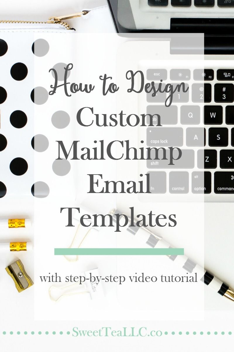 How to Design Custom MailChimp Email Templates | Scary, Template and ...