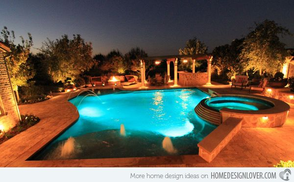 15 Remarkable Free Form Pool Designs | Home Design Lover