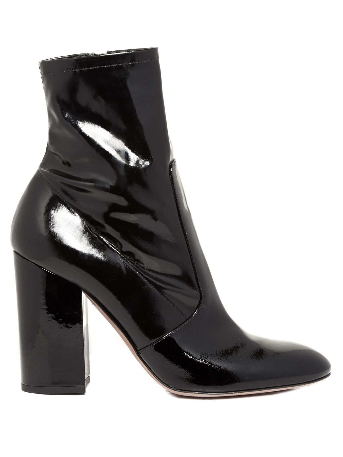 bab9e672096 Block-heel patent-leather ankle boots | Valentino | MATCHESFASHION.COM UK