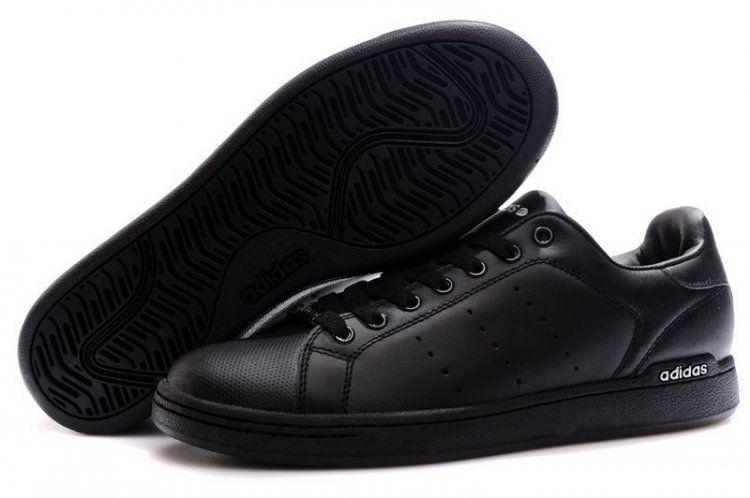 adidas stan smith annata serie mens le scarpe nere gg0202 lineare