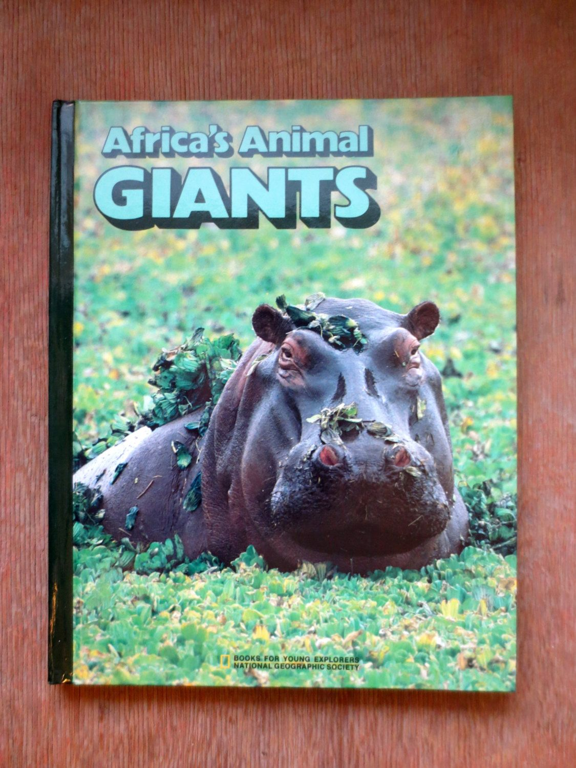 Africa S Animal Giants 1987 By Jane R Mccauley Vintage Childrens Non Fiction Book National Geographic Africa Animals Animals Meerkat Mail