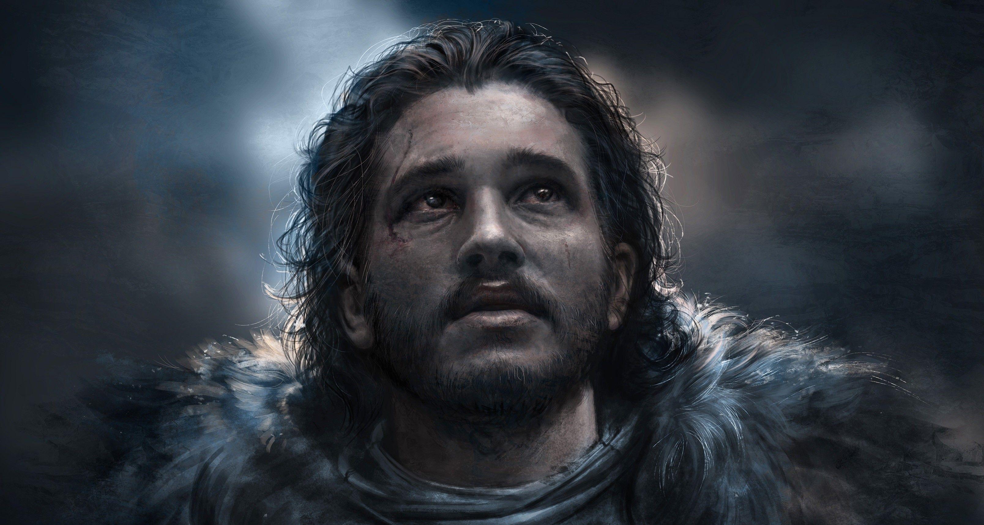Res 3216x1716 Jon Snow Best Art Jon Snow Art John Snow Jon Snow