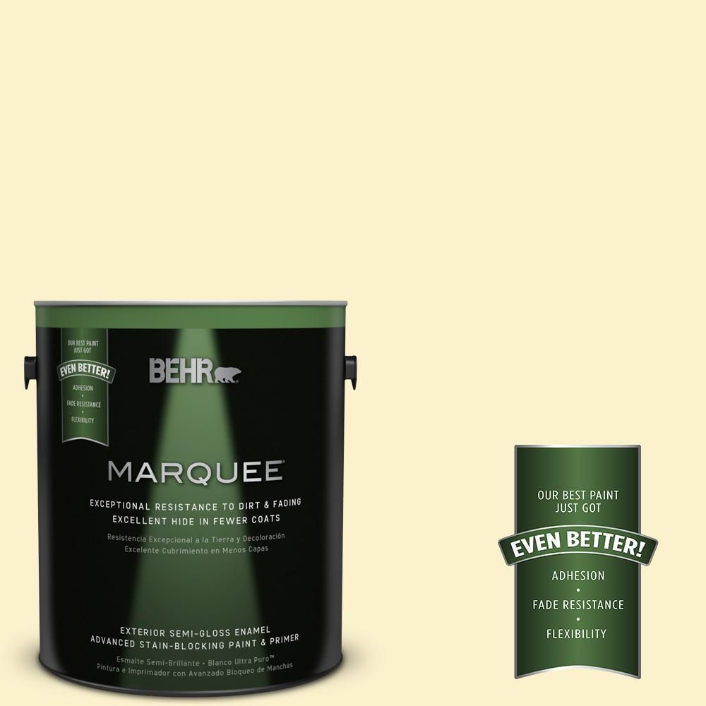 BEHR MARQUEE 1-gal. #390A-3 Twinkle Semi-Gloss Enamel Exterior Paint