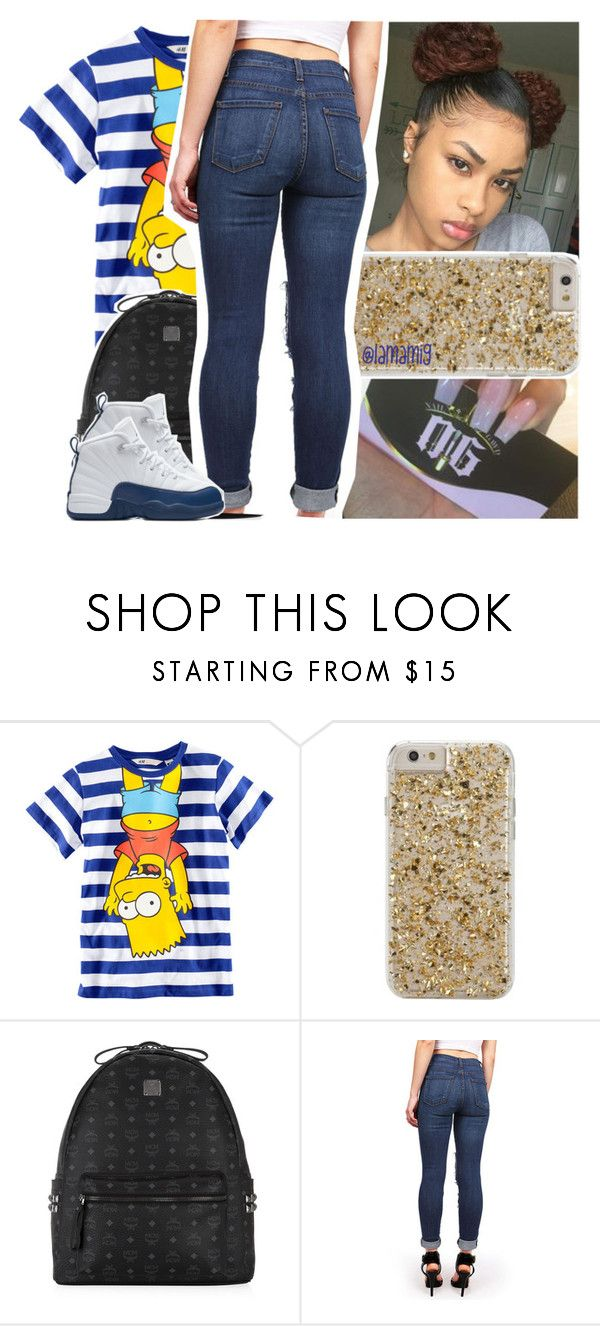 """""""even when it hurts, it'll be okay"""" by lamamig ❤ liked on Polyvore featuring H&M, Case-Mate, MCM and NIKE"""