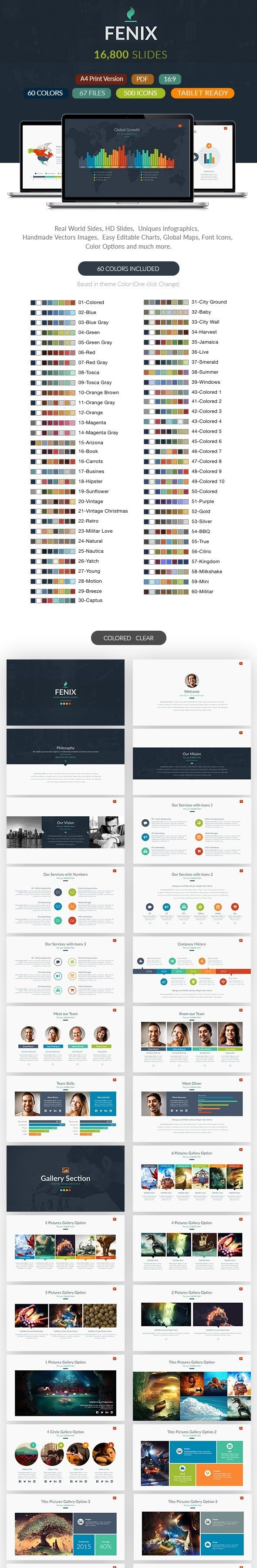advertising campaign pitch brand chart infographics font awesome
