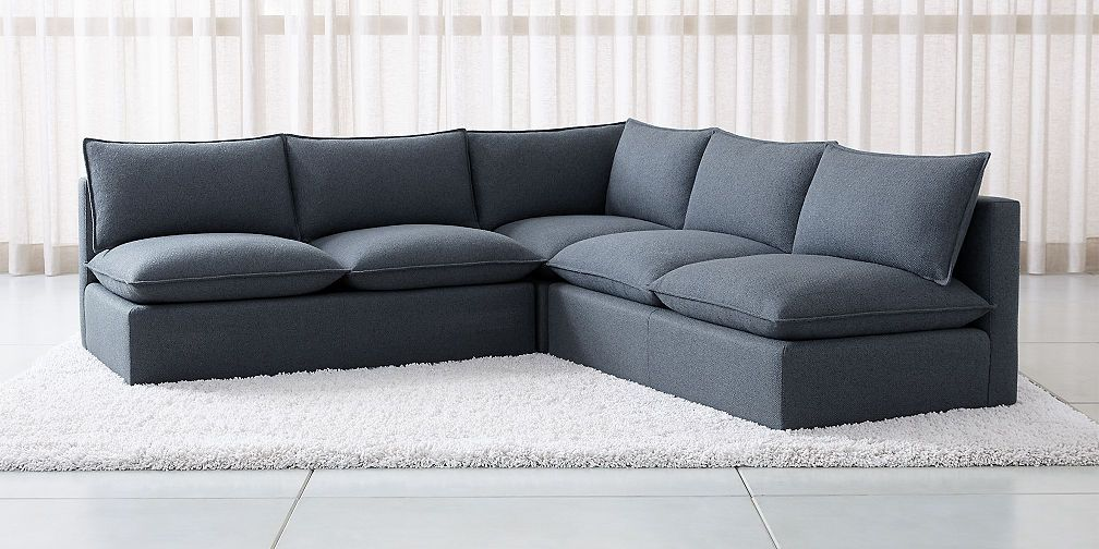Sectional Sofas Love How You Live Crate And Barrel Corner Sectional Sectional Sofa With Recliner Sectional
