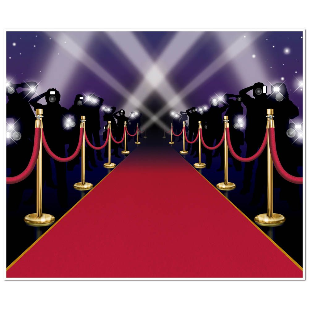 Red Carpet Centerpieces – Red Carpet Party Invitation