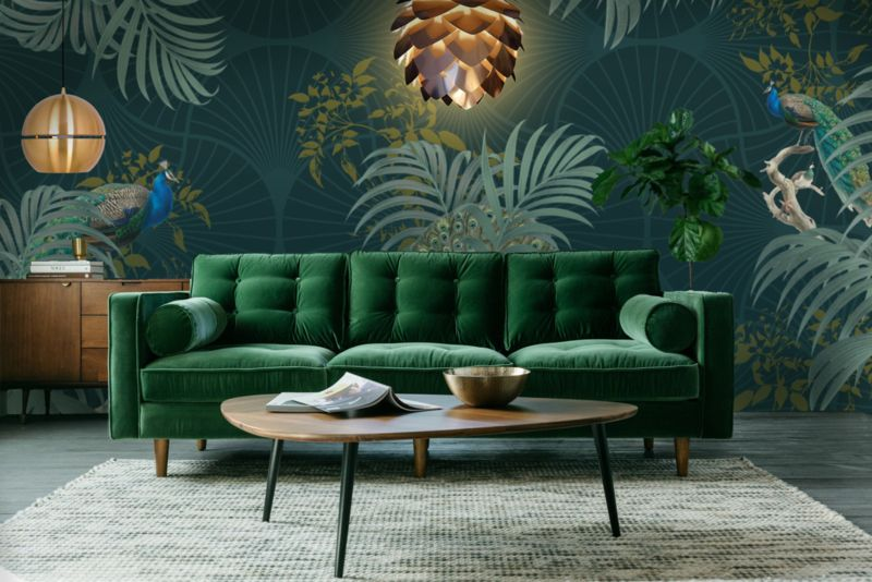 Pin On Interior Design #peacock #themed #living #room