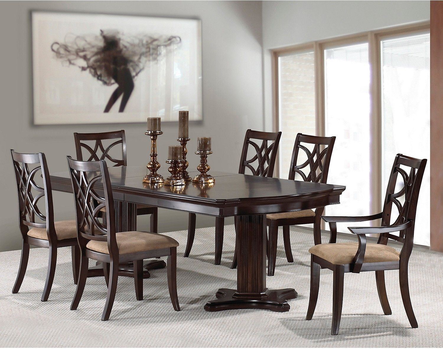 Rayna 7 Piece Dining Package
