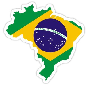 Pin By Ferre On Ferredisenos In 2020 Brazil Flag Coloring Stickers Stickers