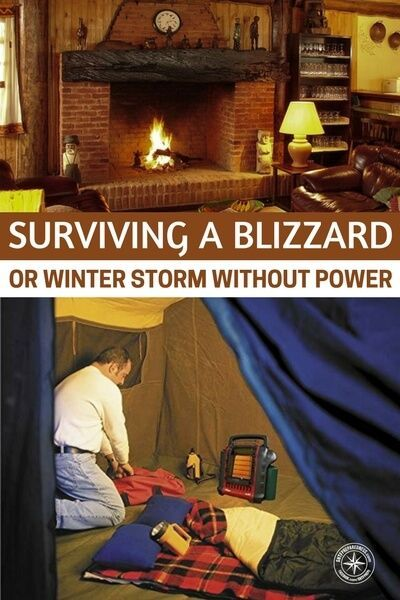 Surviving a Blizzard or Winter Storm Without Power ,  Surviving a Blizzard or Winter Storm Without Power ,