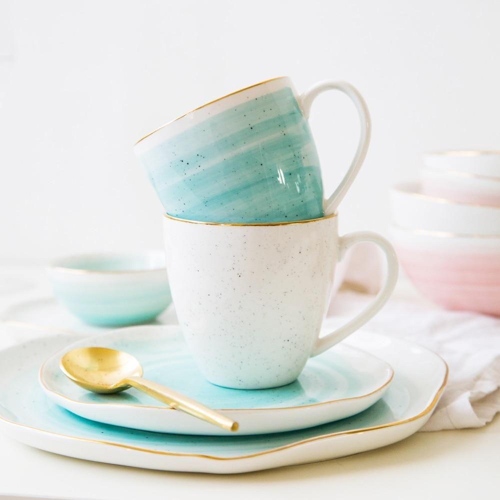 European Frankfurt style Ceramic Mugs #ceramicmugs