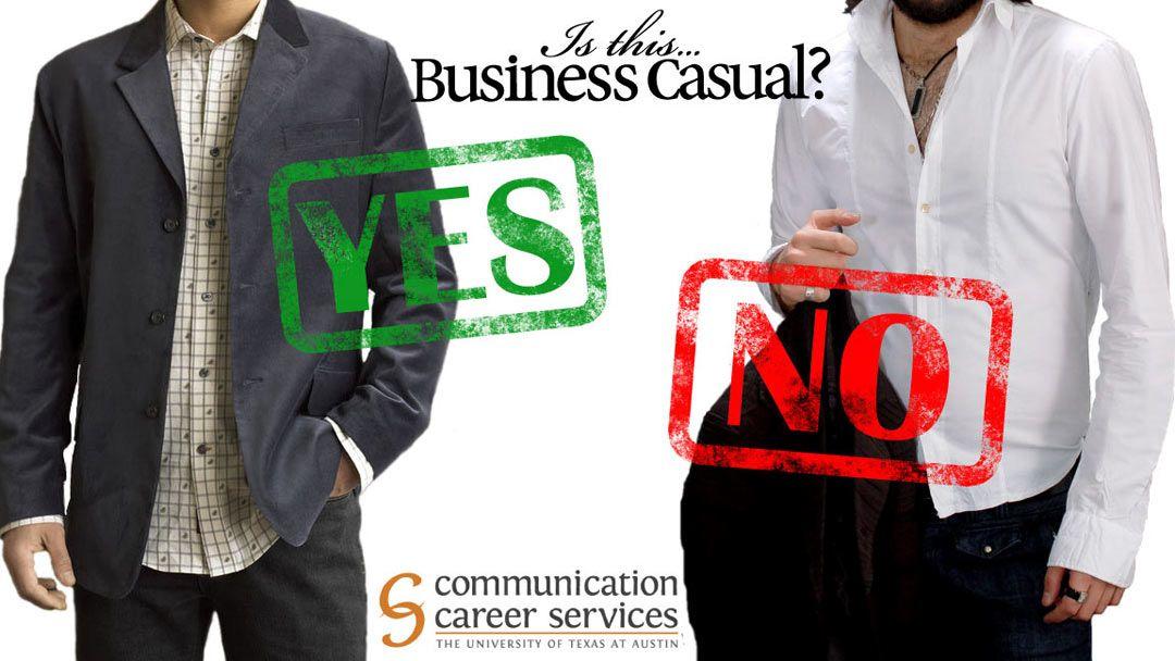 Men's Business Casual
