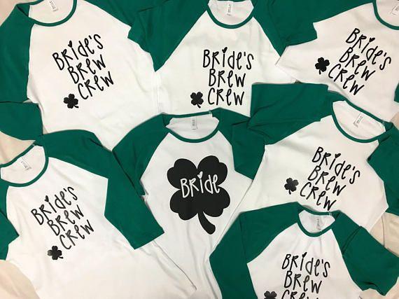 3b0c497a4 St. Patrick's Day Bachelorette Party Shirts | Irish Bachelorette | St  Patrick's Day Shirt | Bride's