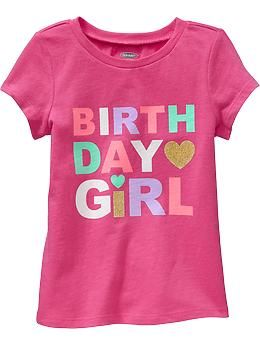 Birthday Girl Tees For Baby