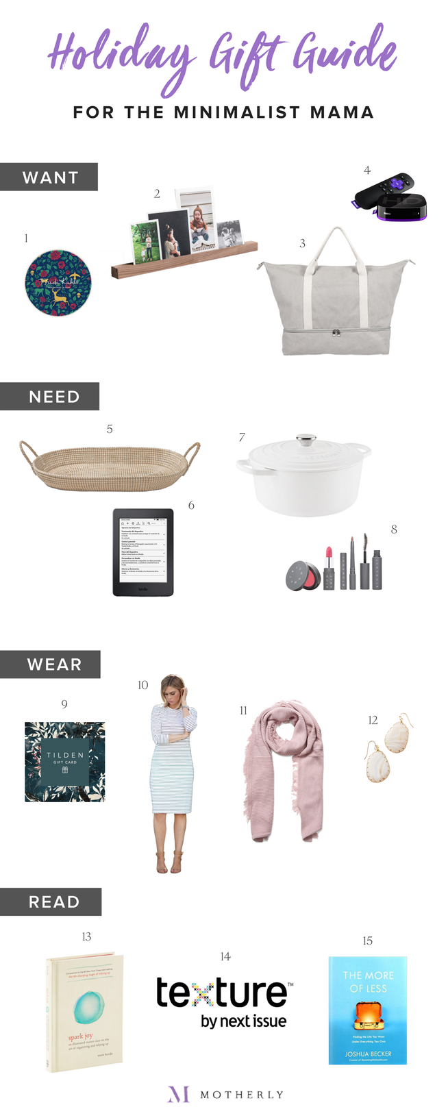 holiday gift guide 2017 15 simple beautiful gift ideas for the minimalist mama motherly sometimes less really is more