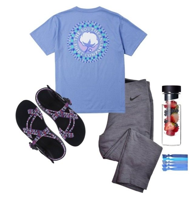 """""""Relax """" by aubjinga ❤ liked on Polyvore featuring NIKE, Popband and Chaco"""