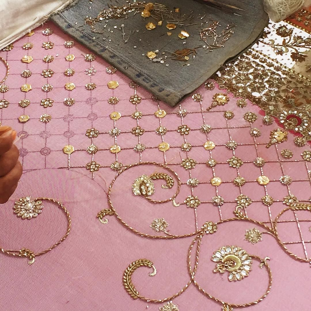 The making of an epic sneakpeak vogueweddingshow mishalakhani