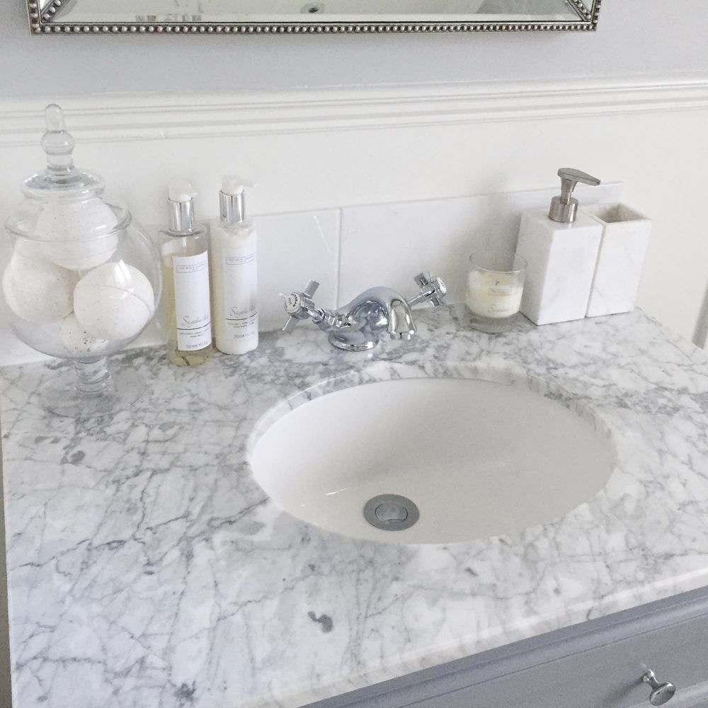 16 Bathroom Vanity Unit Marble Top