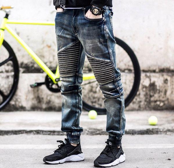 Men's Premium Denim Biker Jeans | Fly jeans | Pinterest | Products ...