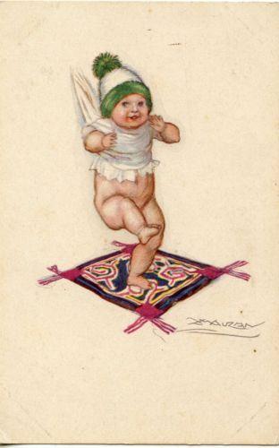 Détails sur CARTE POSTALE / POSTCARD / ILLUSTRATEUR MAUZAN / ENFANT / BEBE (avec images)   Carte ...