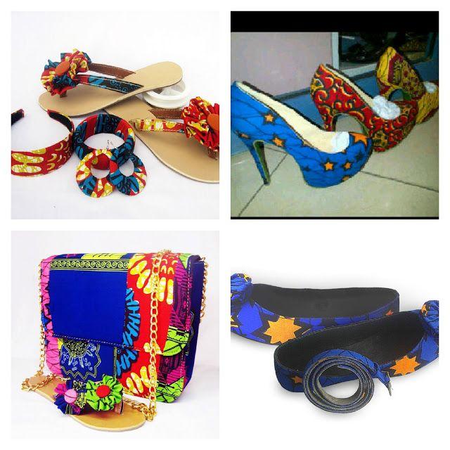 1d899ecae64aa3 Creative Ankara Shoes and Bags Design for Ladies http   www.dezangozone.