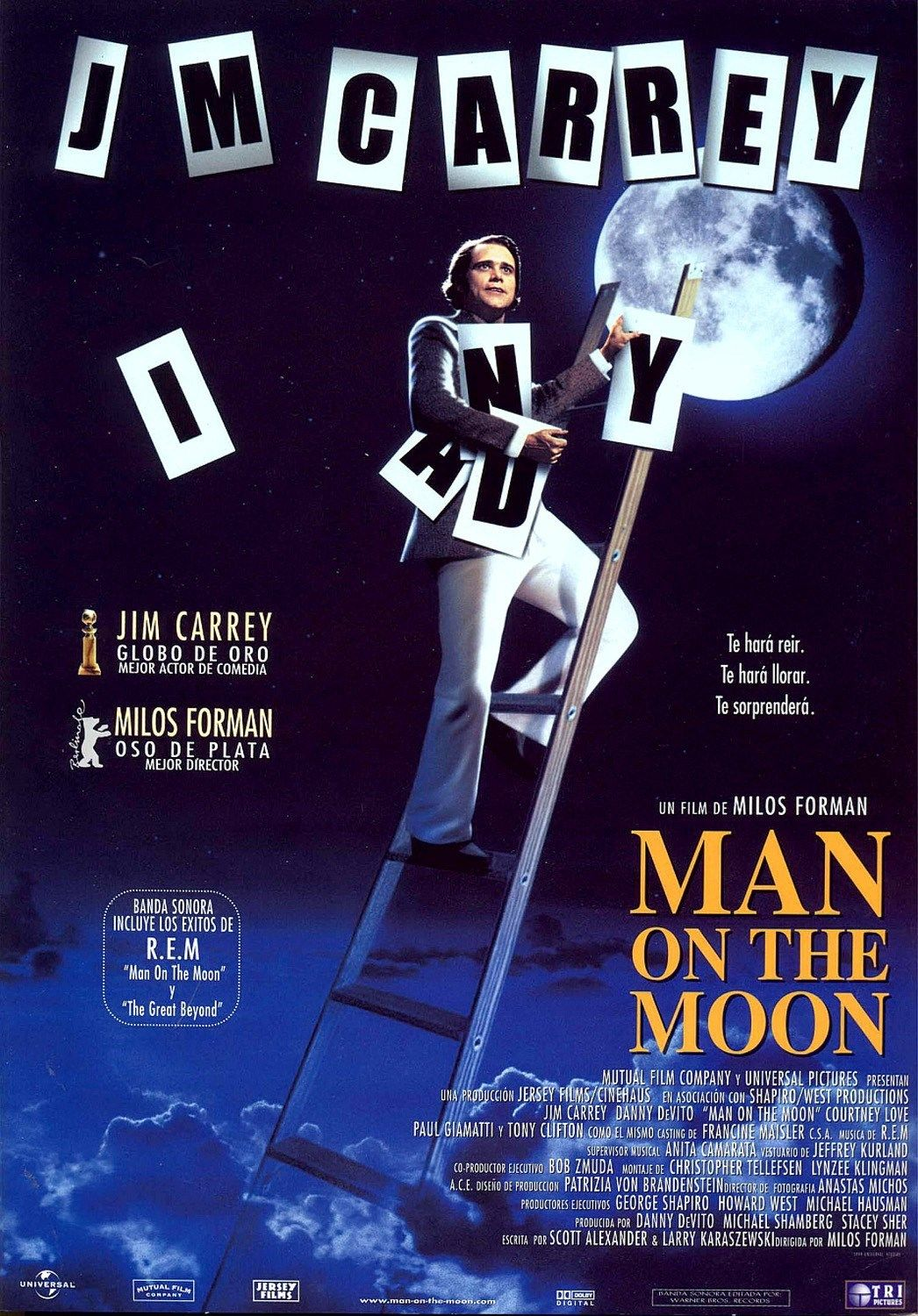 Man On The Moon Movie Poster Google Search