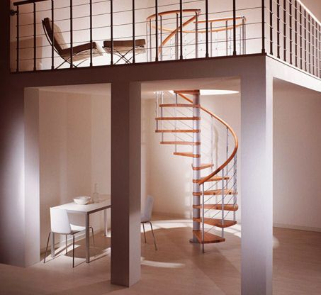 Best Modern Spiral Stairs From Albini Fontanot Staircase 640 x 480