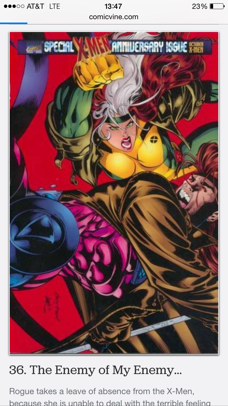 X Men Vol 2 45 Loa From X Men Due To Guilt She Absorbed From G When Kissed Comics X Men Marvel