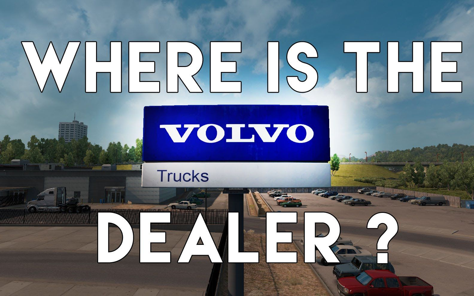 Where is the Volvo Dealer in ATS? | All American Truck
