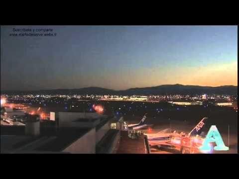 Meteorito ilumina el cielo de japón impresionante vídeo - VIDEO TOMADO POR LAS CÁMARAS DE EL AEROPUERTO DE JAPÓN  EN LA NOCHE...