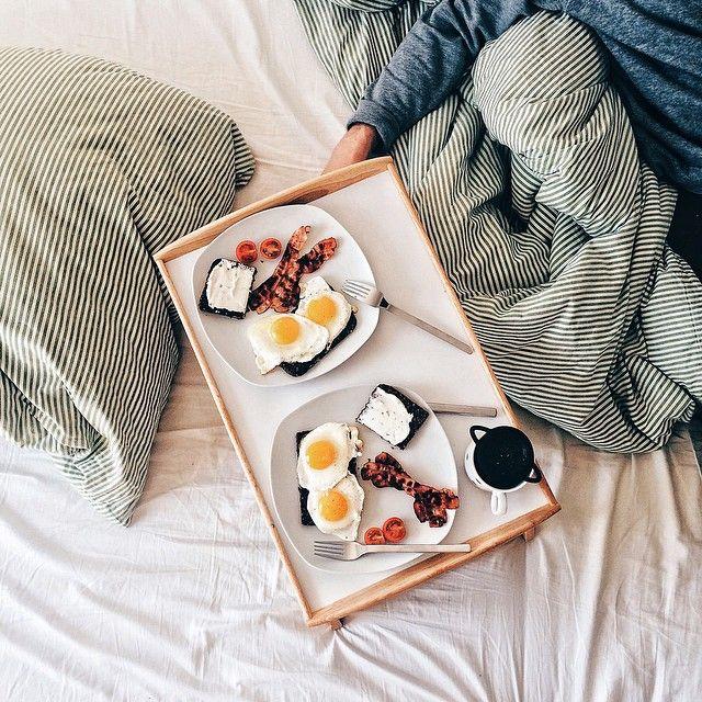 just you wait | Breakfast in bed, Best breakfast, Food