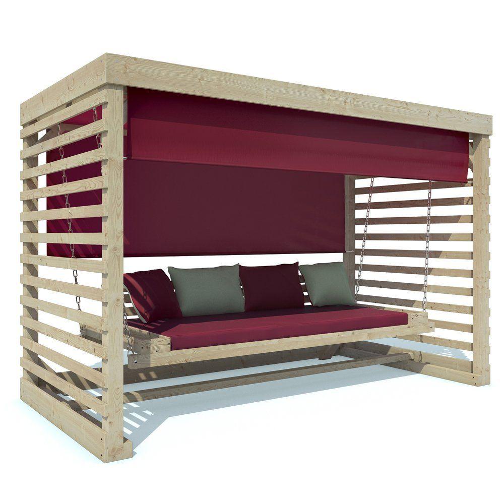 hollywoodschaukel tiffany holz gartenschaukel schaukelbank gartenm bel 4 sitzer. Black Bedroom Furniture Sets. Home Design Ideas
