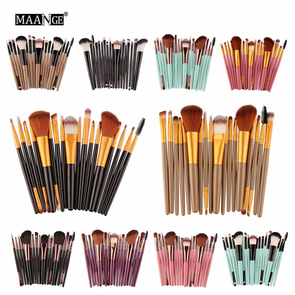 18x Pro Makeup Brushes Foundation Powder Eyeshadow
