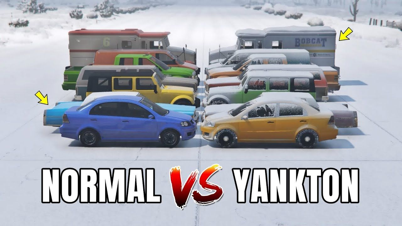 GTA 5 ONLINE NORMAL VS NORTH YANKTON (WHICH IS BEST