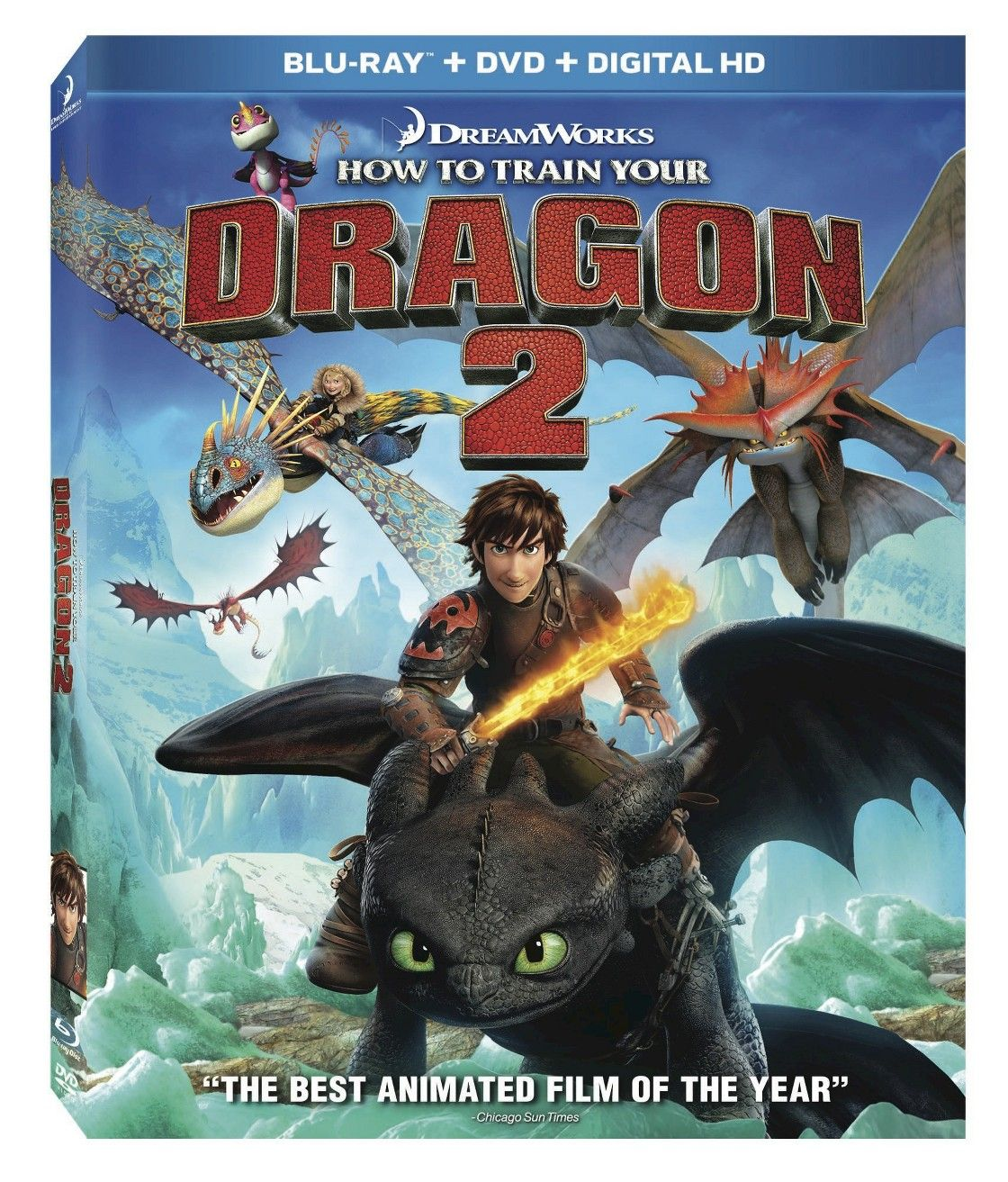 how to train your dragon 2 blu raydvd includes digital copy - How To Train Your Dragon Christmas