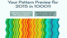 Weatherghan Pattern Preview - http://thecrochetcrowd.com/free-weatherghan-creator-afghan-maker/