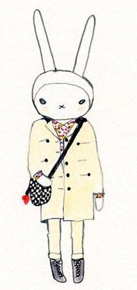 Fifi Lapin Wears Luella Fifi Lapin Hello Kitty Kitty