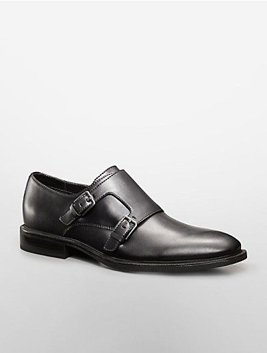 Russell double monk strap.  Calvin Klein.com