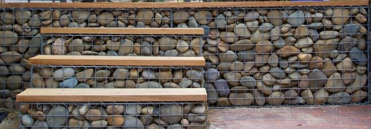 Gabion Fences and Stone Walls | Rock fence design |UK