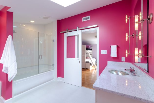 Designline Home Transformations Deep Run Pickup Location Bright Bathroom Colors Bathroom Colors Bathroom Design Decor