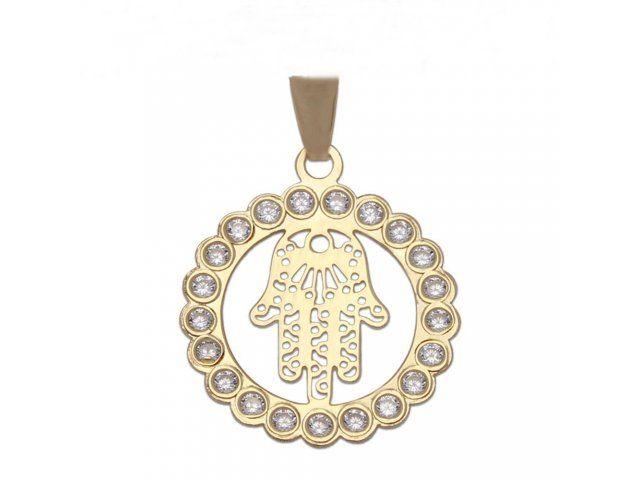 61251391e434 Colgante lgrima Virgen Nia en Oro 18 Kl Joyeria online