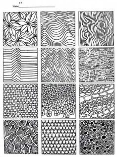 Texture Helps For Kids To Draw Google Search Pattern Drawing