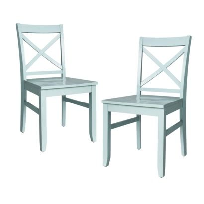 Miraculous Threshold Carey Dining Chair Pale Blue Set Of 2 Pabps2019 Chair Design Images Pabps2019Com