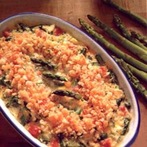 My favorite Easter recipe: Ham, Asparagus and Egg Casserole