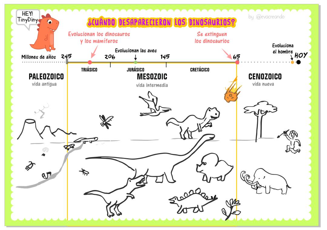 resumen de las eras de la tierra y los dinosaurios timeline of the dinosaurs dinosaurs. Black Bedroom Furniture Sets. Home Design Ideas