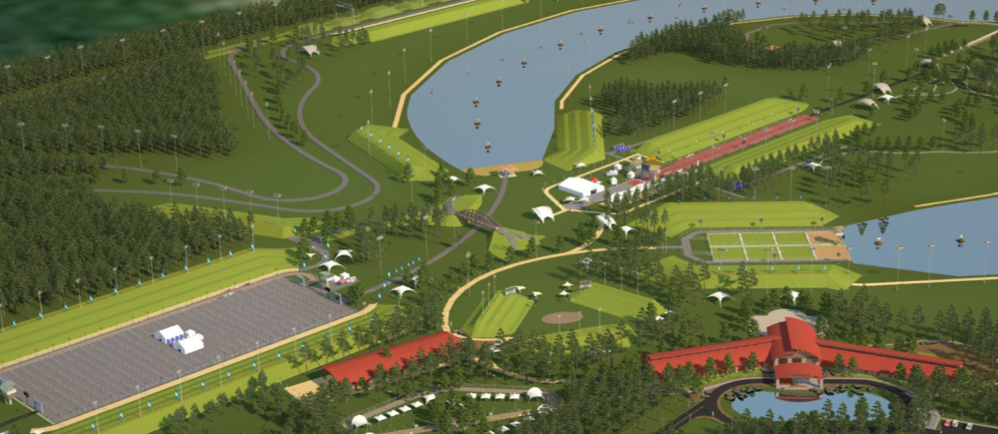 An 1,100-acre training and racing venue will be the first of its kind in the world.