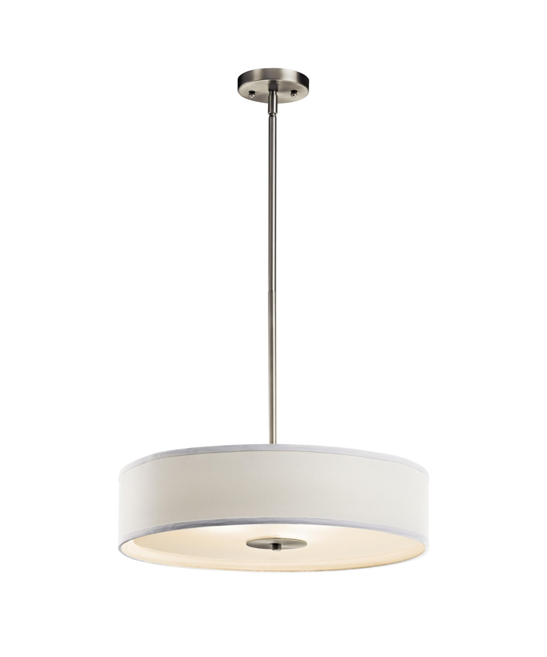 20 Inch Large Pendant by Kichler Lighting Drum pendant