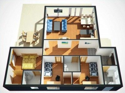 Planos De Casas De Un Solo Piso Casas De Un Solo Piso Planos De Casas Casas